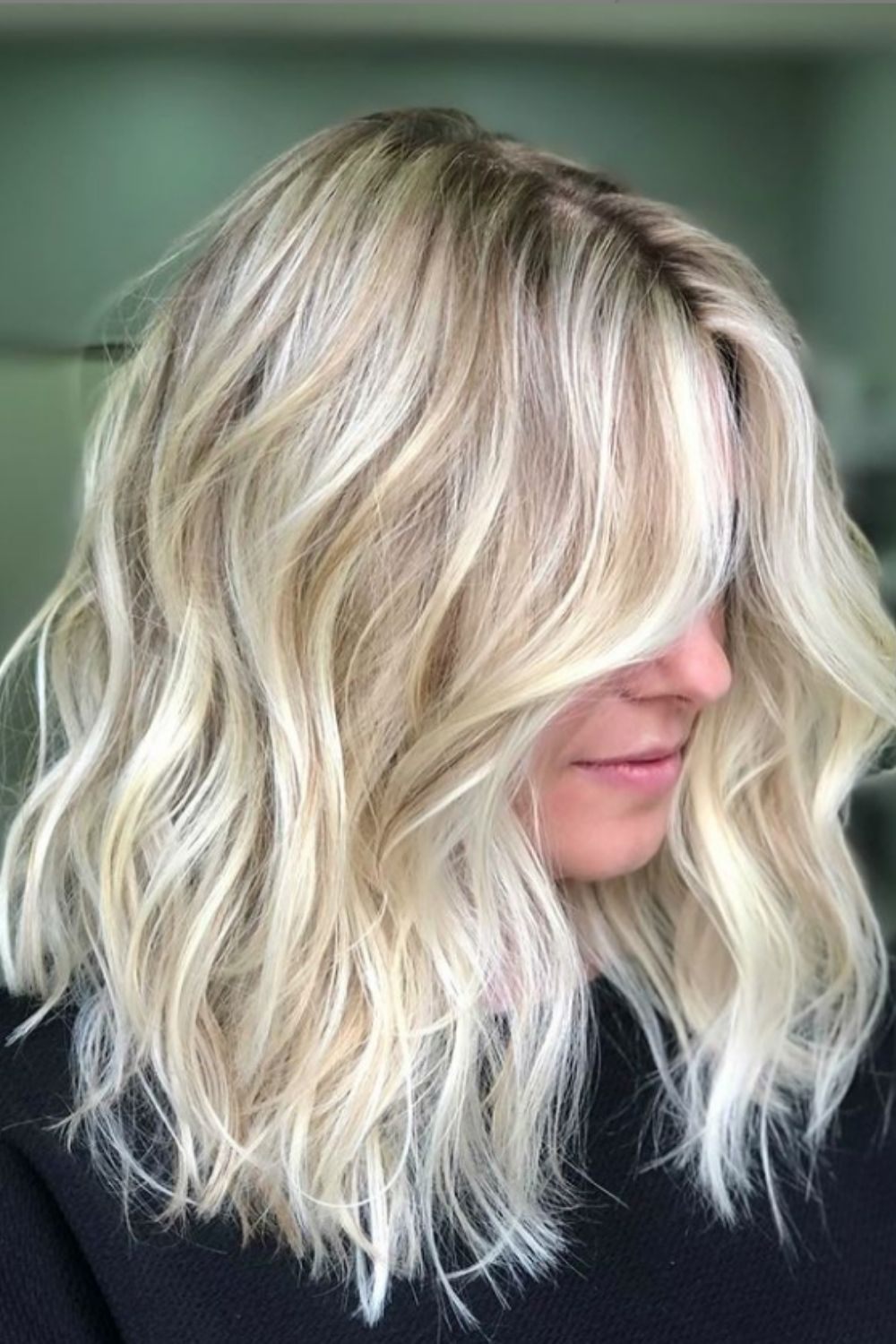 Blonde hairstyles | How to style blonde hair with curtain bangs?