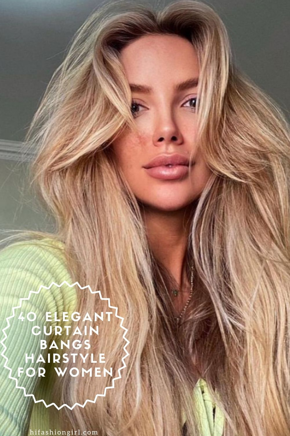 Curtain Bangs Hairstyle: 40 Pretty Hair Ideas For Girls To Try In Daily Life!