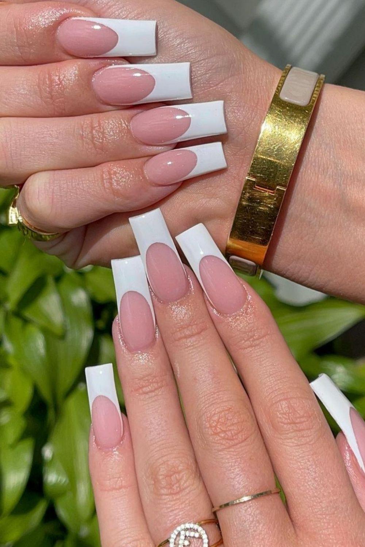 Best coffin gel nails for Summer 2021