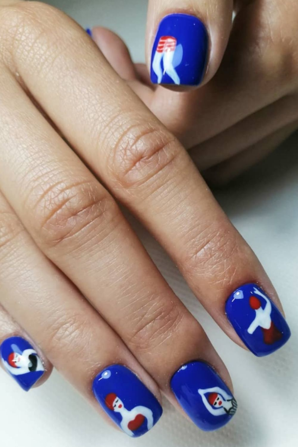 Beach nail designs inspired you to try for your summer holiday.
