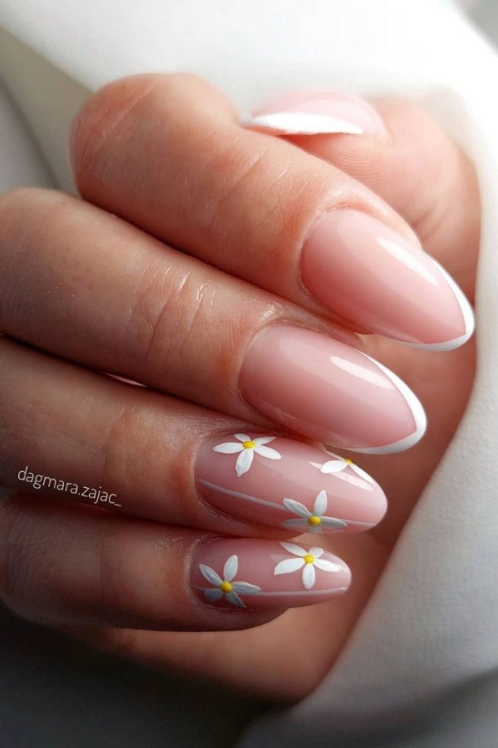 French tip almond nails for you to Consider for Your Next Nail Look