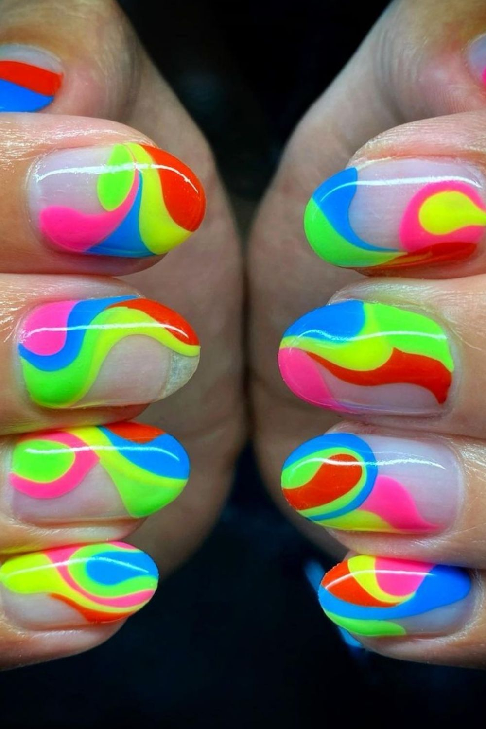 Best Pride acrylic nails 2021 for LGBTQ