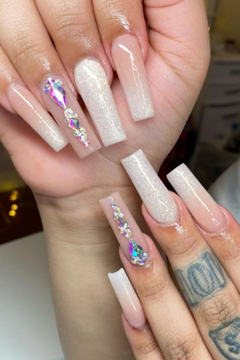 Coffin ombre nails ideas and designs for your summer nails
