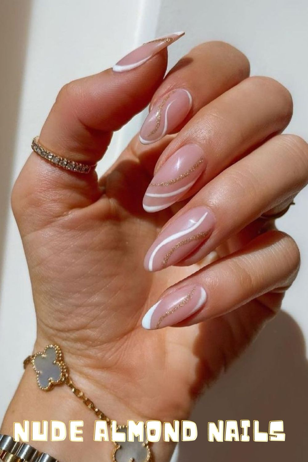 Almond acrylic nails : Cute summer nails ideas 2021 to hit