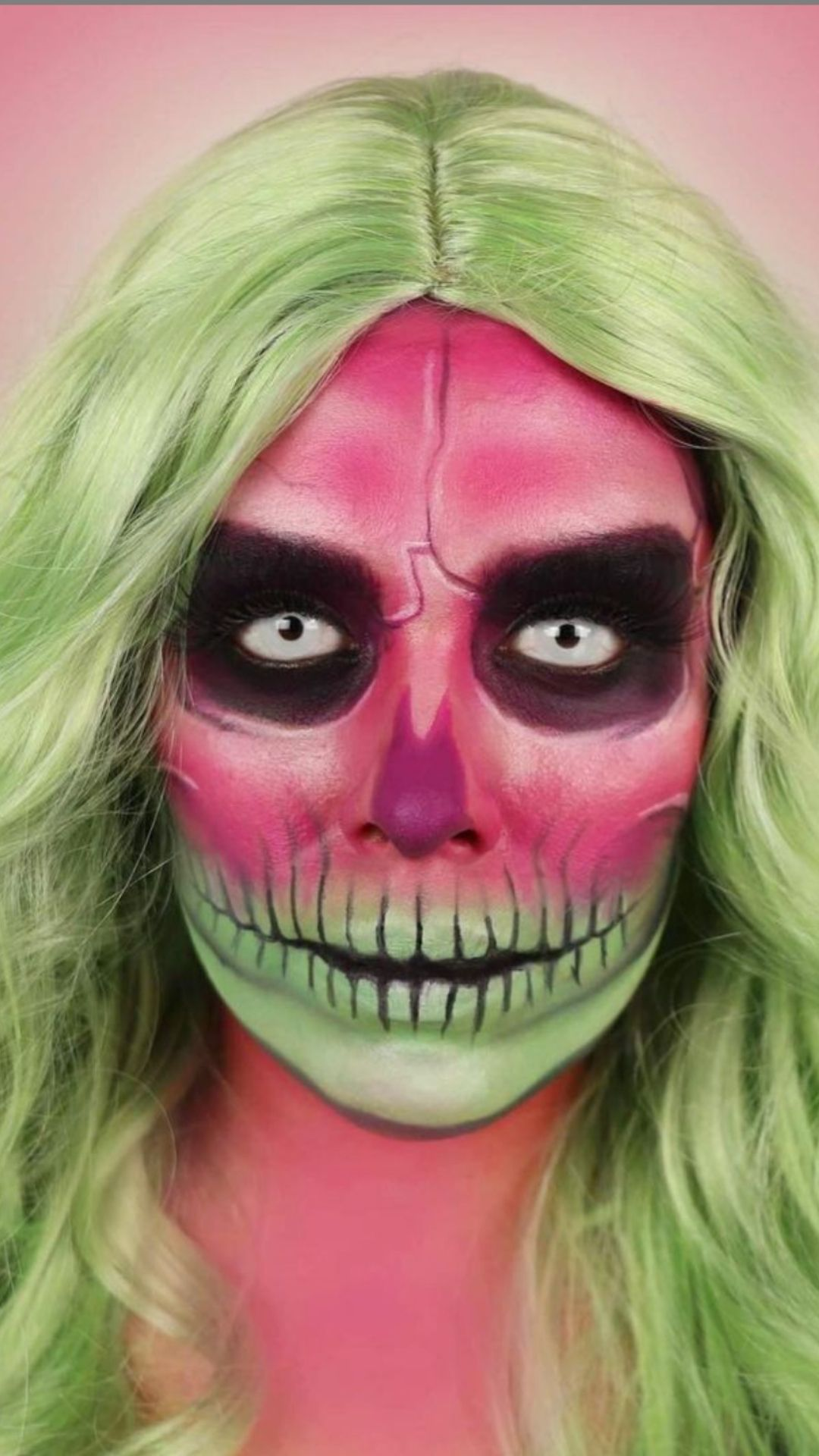 30 Easy Halloween Makeup Looks idea for beginners to try 2021