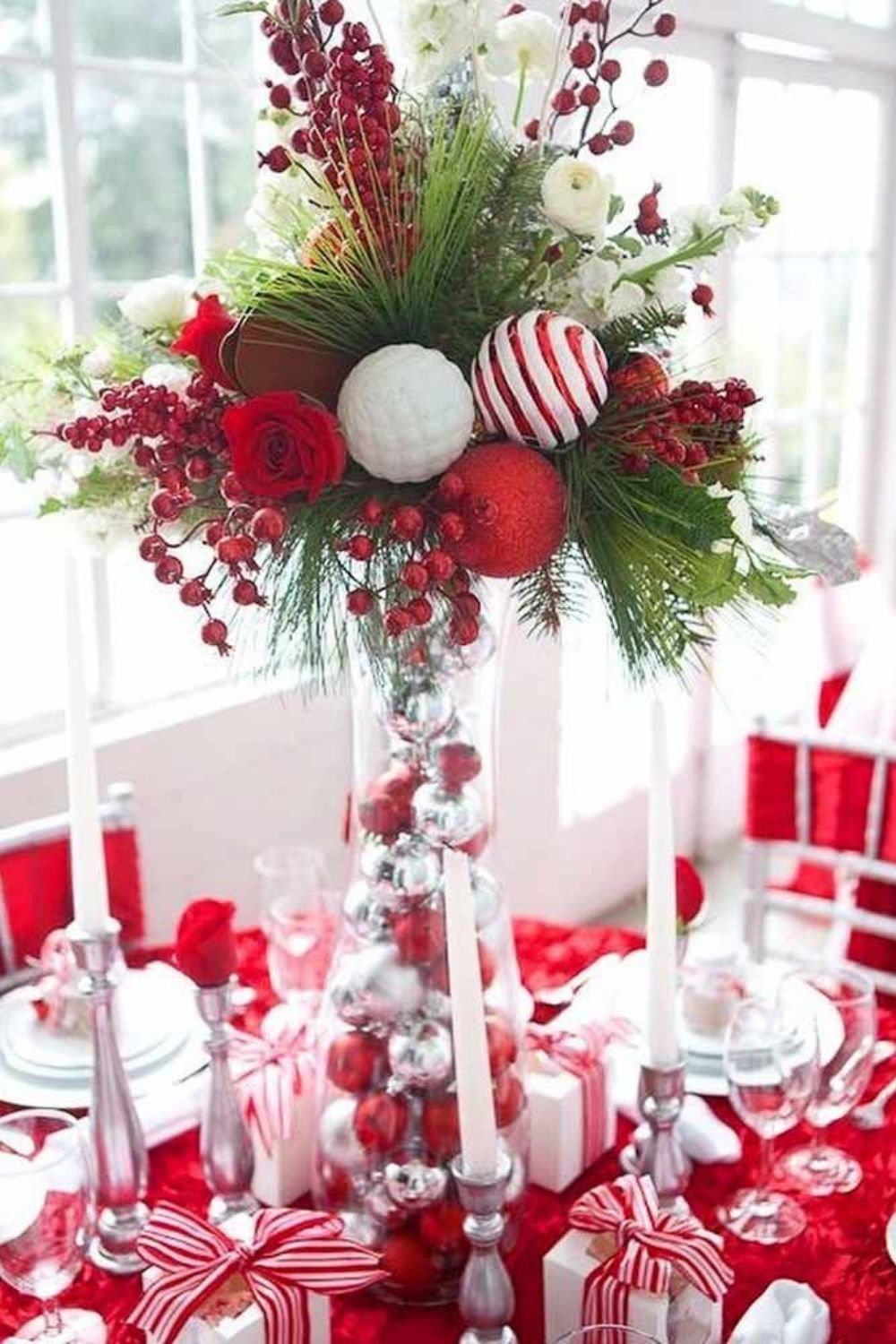 39 Creative Holiday centerpiece ideas and decorations 2021 Christmas