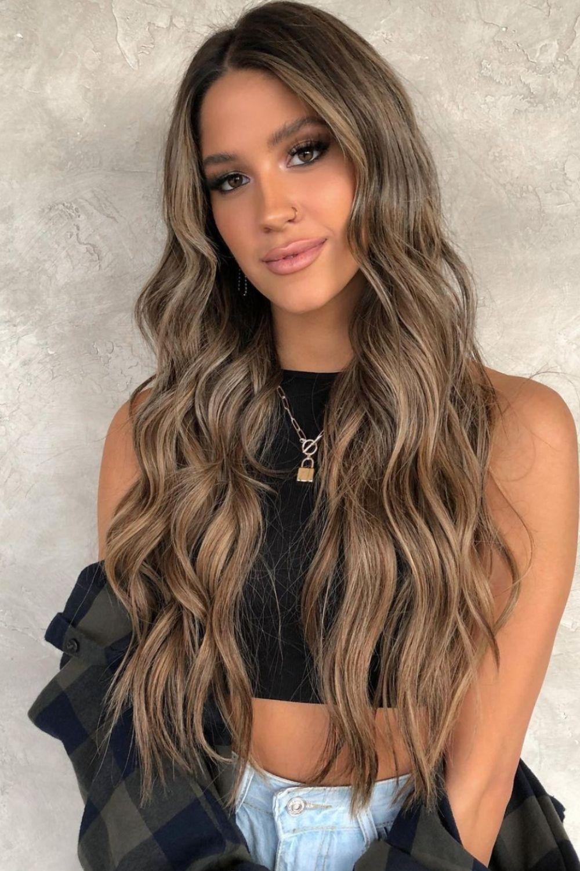 36 Inspiring Blonde Balayage Hair Color Ideas for Autumn hair dye 2021