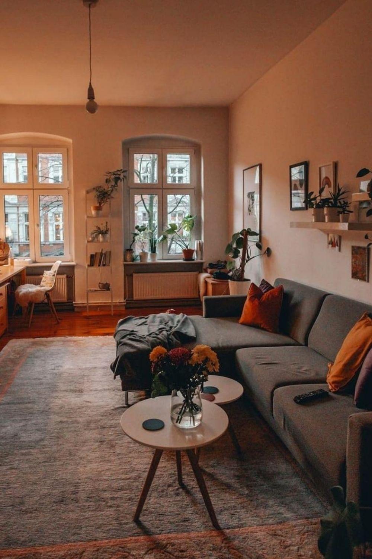 32 Cozy Bohemian Living room decor ideas for Fall 2021
