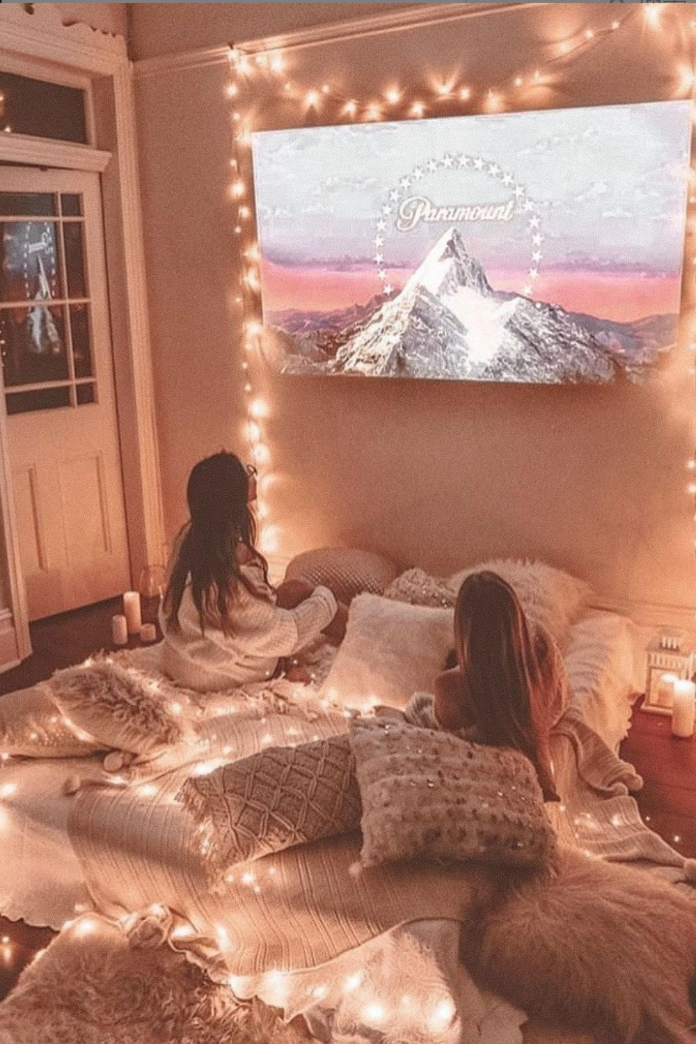 32 Romantic ways to decor bedroom with string lights