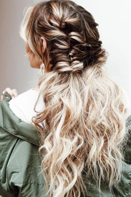 53 Stylish Homecoming Hairstyles For long hair and medium hair 2021